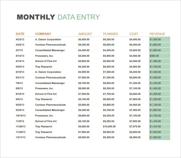 30+ Monthly Sales Report Templates - PDF, DOC Free  Premium Templates - sales report sample