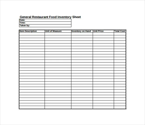 15+ Sample Inventory Spreadsheet Templates- Free Sample, Example - Inventory Sheet Sample
