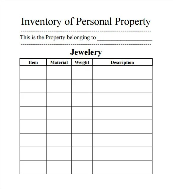 15+ Sample Inventory Spreadsheet Templates- Free Sample, Example
