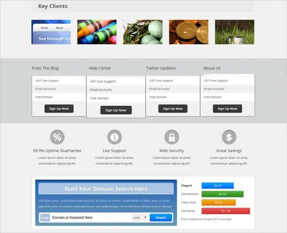 16+ Hosting PHP Themes  Templates Free  Premium Templates - php templates