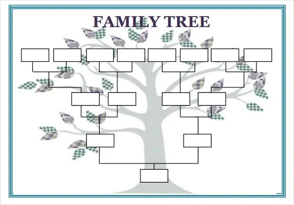 family tree ms word - Josemulinohouse - ms office family tree
