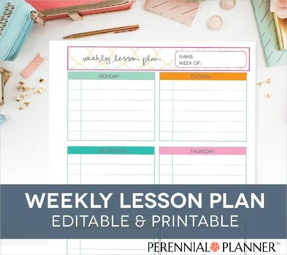 Blank Lesson Plan Template \u2013 15+ Free PDF, Excel, Word, Google Drive - printable lesson plan template
