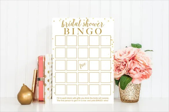 Blank Bingo Template - 15+ Free PSD, Word, PDF, Vector EPS Format