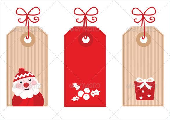 christmas gift tag templates trattorialeondoro - christmas tag template