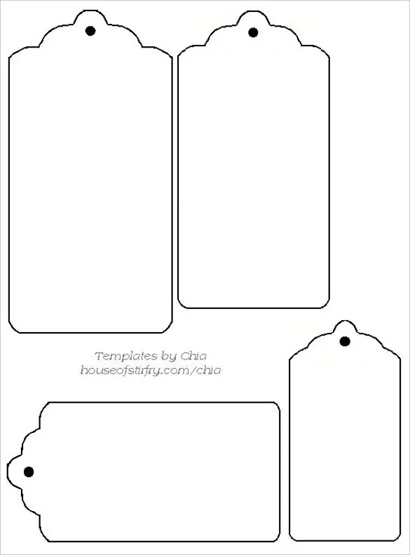30+ Free Tag Template - Vector EPS, PSD Free  Premium Templates