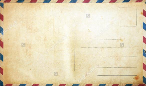 Blank Postcard Template - 34+ Free PSD, Vector EPS, AI, Format