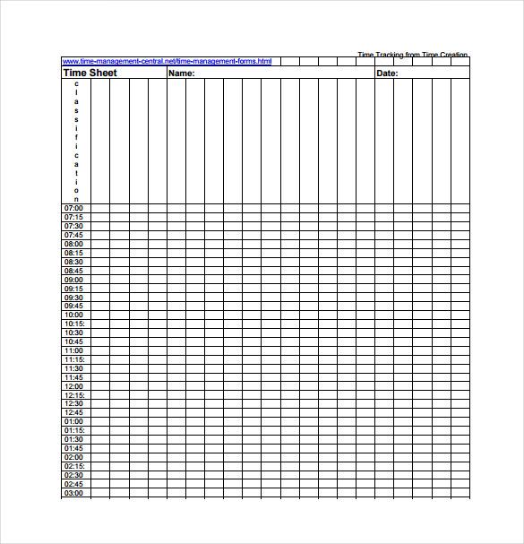 10+ Tracking Spreadsheet Templates - DOC, PDF Free  Premium Templates - time spreadsheets
