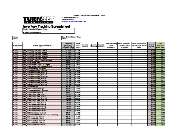11+ Tracking Spreadsheet Templates \u2013 Free Sample, Example, Format