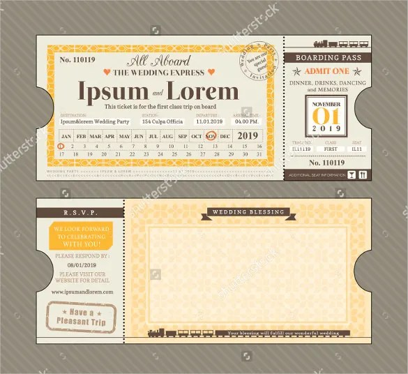 Blank Ticket Templates \u2013 29+ Free PSD, Vector EPS, AI, Word Format - printable ticket paper