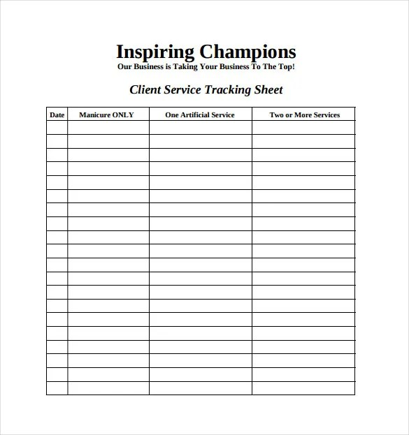 11+ Tracking Spreadsheet Templates \u2013 Free Sample, Example, Format - Sample Tracking Sheet
