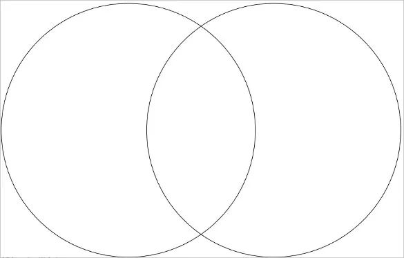 venn diagram template blank