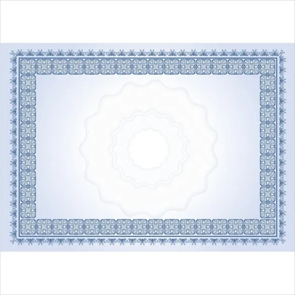 free blank certificate - Eczasolinf - free blank certificate templates