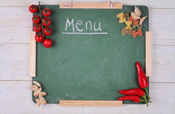 menu blank template - Selol-ink