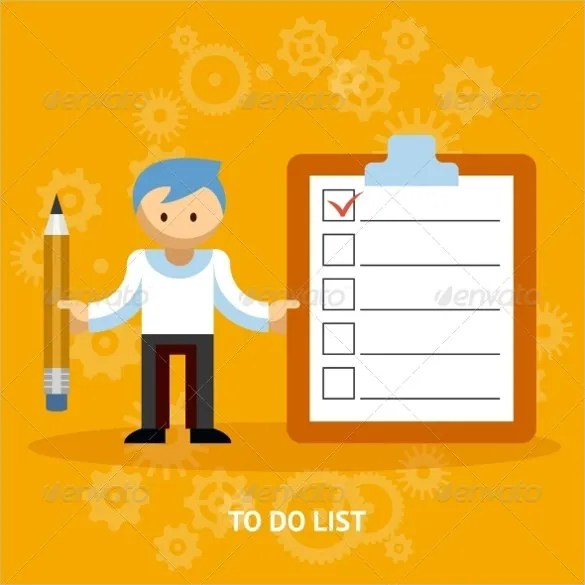 Blank Checklist Template - 36+ Free PSD, Vector EPS, AI, Word Format - editable checklist template