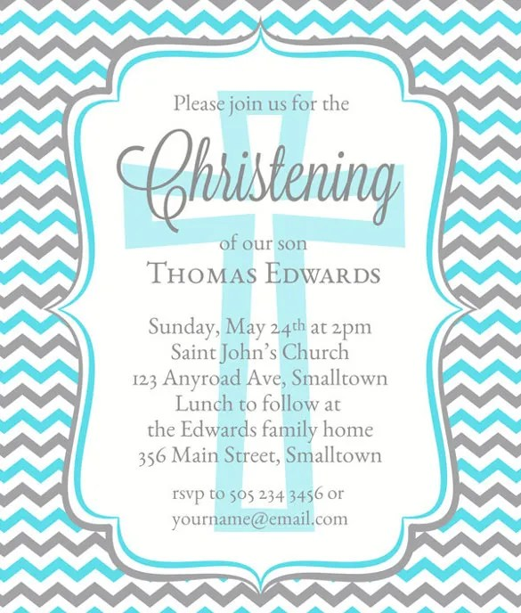 Invitation Letter Format For Naming Ceremony  Create Professional
