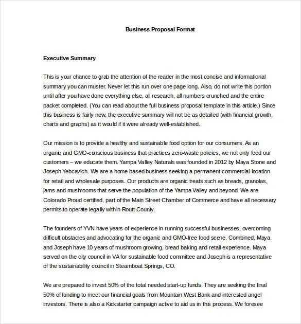 Business Proposal Template - 39+ Free Word, PDF documents Download - business proposal word template