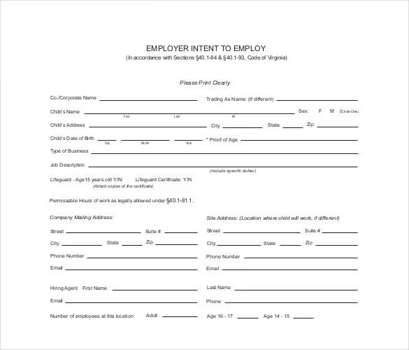 40+ Employment Certificates - PDF, DOC Free  Premium Templates
