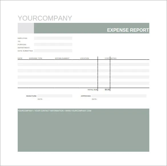 12+ Google Spreadsheet Templates - Free Sample, Example, Format - basic expense report template