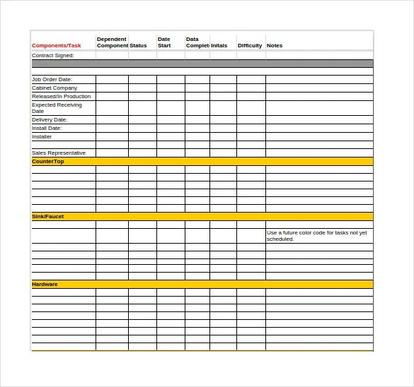 google sheets template - Acurlunamedia