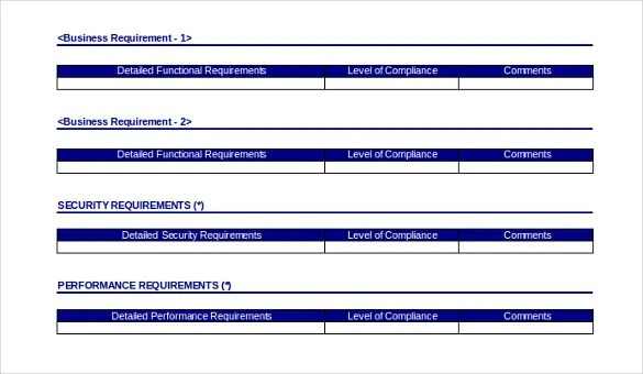 13+ Business Itinerary Templates u2013 Sample, Example, Format - business requirements document template