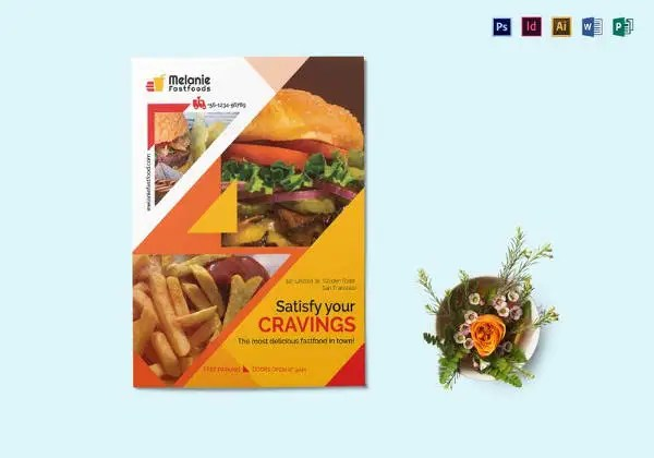23+ Fast Food Flyer Templates - Free PSD, AI, Vector, EPS Format - food flyer template