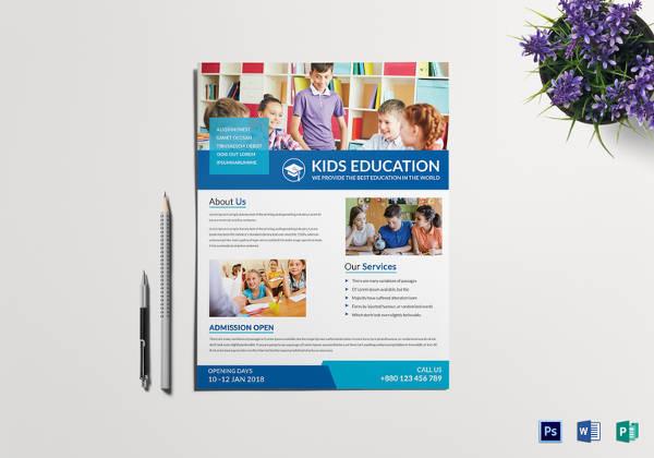 27+ School Flyer Template - Free PSD, AI, Vector, EPS Format - web flyer