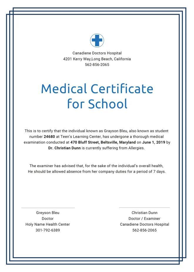 resume template medical school
