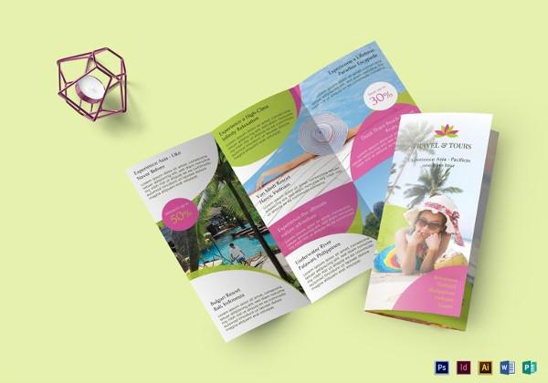 printable travel brochure