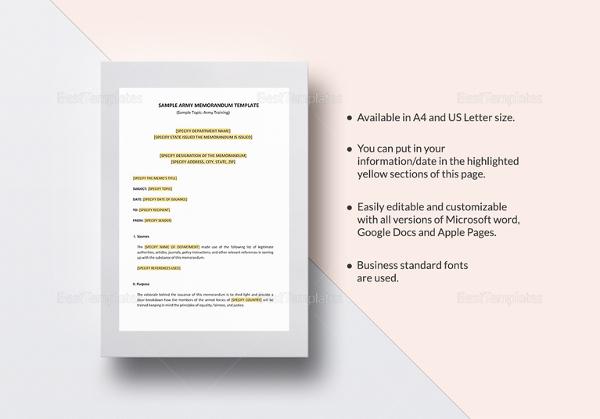 22+ Free Memo Templates \u2013 Free Sample, Example, Format Download