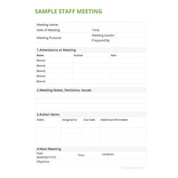 28+ Minutes Writing Template - Free Sample, Example Format Download