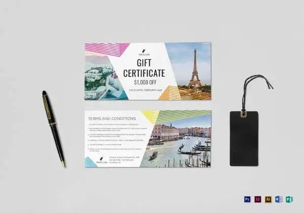 ms word gift certificate template free