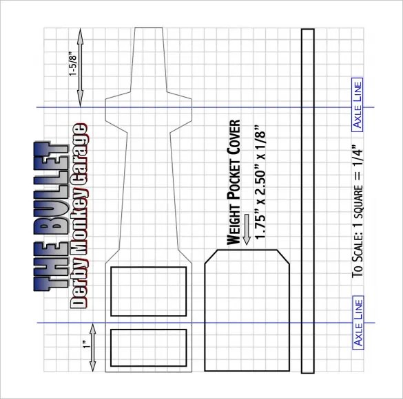21+ Cool Pinewood Derby Templates \u2013 Free Sample, Example Format - free pinewood derby car templates download