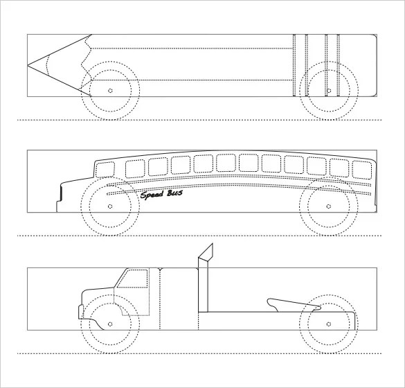 21+ Cool Pinewood Derby Templates \u2013 Free Sample, Example Format