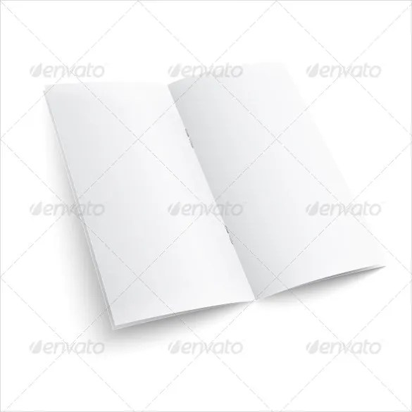 Blank Brochure Template \u2013 18+ Free PSD, Vector EPS, AI, Format