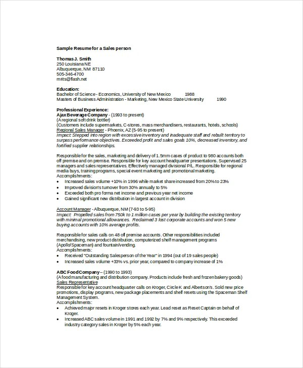 Merchandiser Resume Template - 7+ Free Word, PDF Documents Download