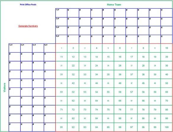 19+ Football Pool Templates - Word, Excel, PDF Free  Premium