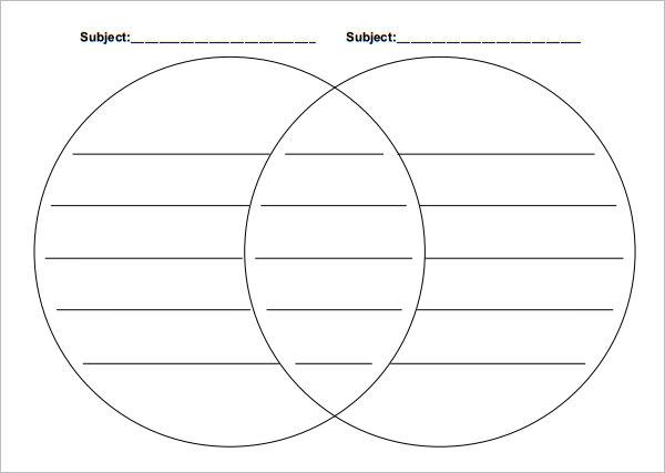 venn diagram microsoft word template
