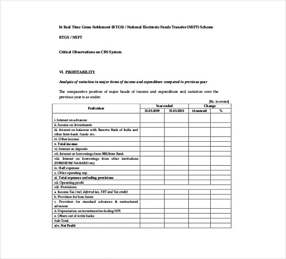 audit report templates - Ozilalmanoof