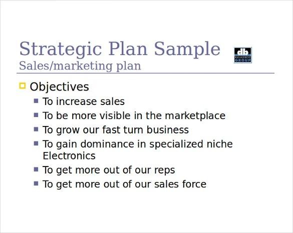 Sales Strategy Template - 13+ Free Word, PDF Documents Download - sales plan pdf