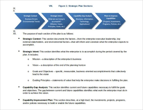 Strategic Plan Template - 16+ Free Word, PDF Documents Download - strategic plan template