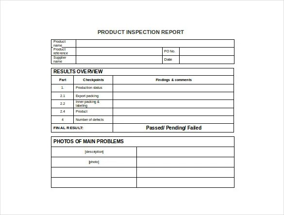 Production Report Template 9 Free Word Pdf Documents