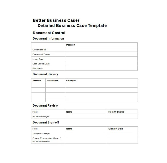Business Case Template - 12 Free Word, PDF Documents Download Free - it project business case template