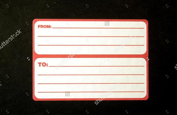 21+ Return Address Label Templates - Free Sample, Example Format