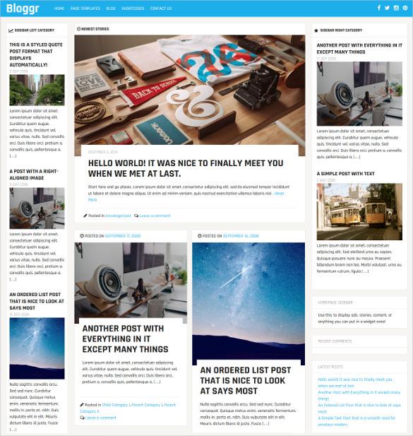 30+ News Blog Themes  Templates Free  Premium Templates