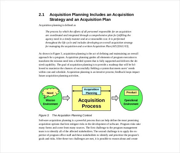 Acquisition Strategy Template \u2013 13+ Free Word, PDF, Documents - acquisition strategy