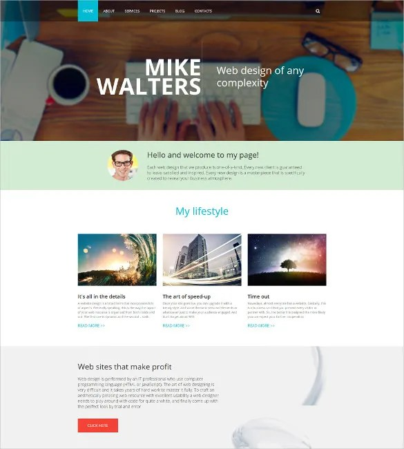 17+ Personal Drupal Themes  Templates Free  Premium Templates