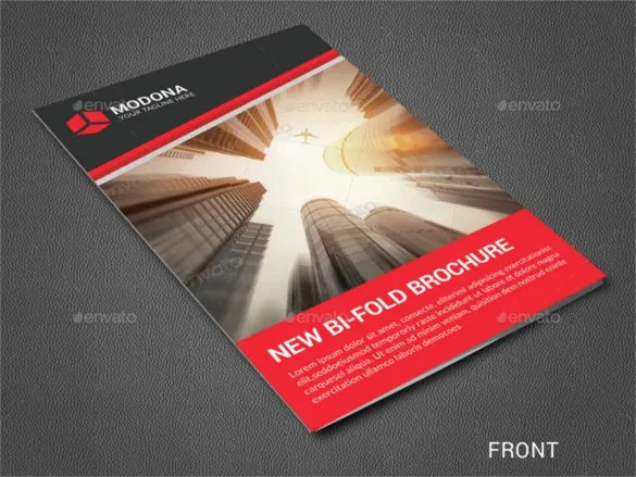 two fold pamphlet template - two fold brochure