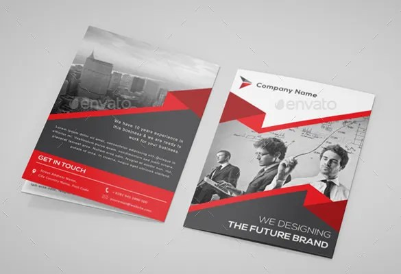 Bi-Fold Brochure Design Inspiration \/ Bi-Fold Brochure Design - psd brochure design inspiration
