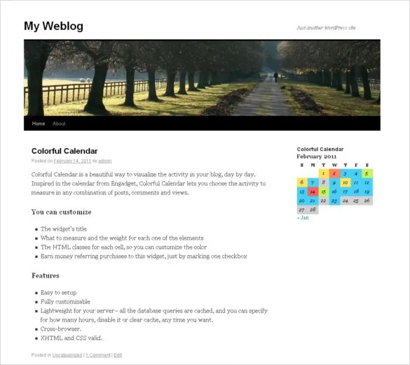 26+ HTML Calendar Templates - HTML, PSD, CSS Free  Premium Templates