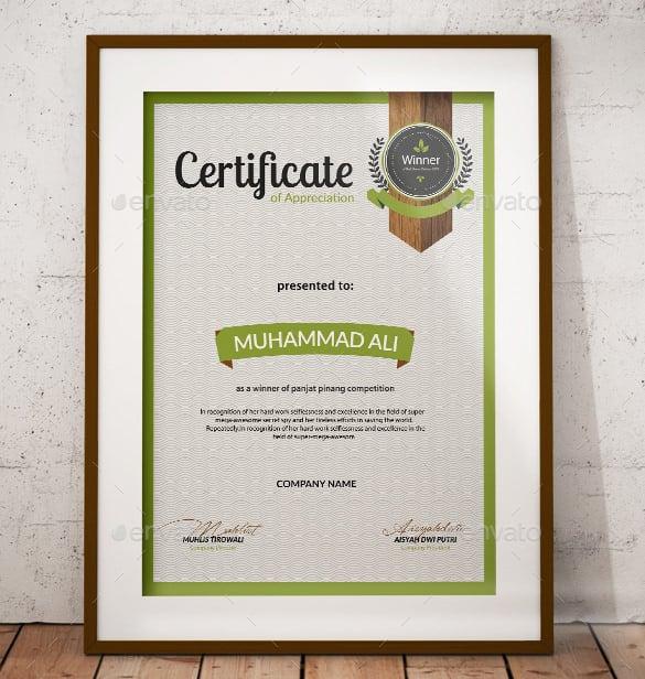 Employee appreciation certificates templates - visualbrainsinfo - employee recognition certificate template